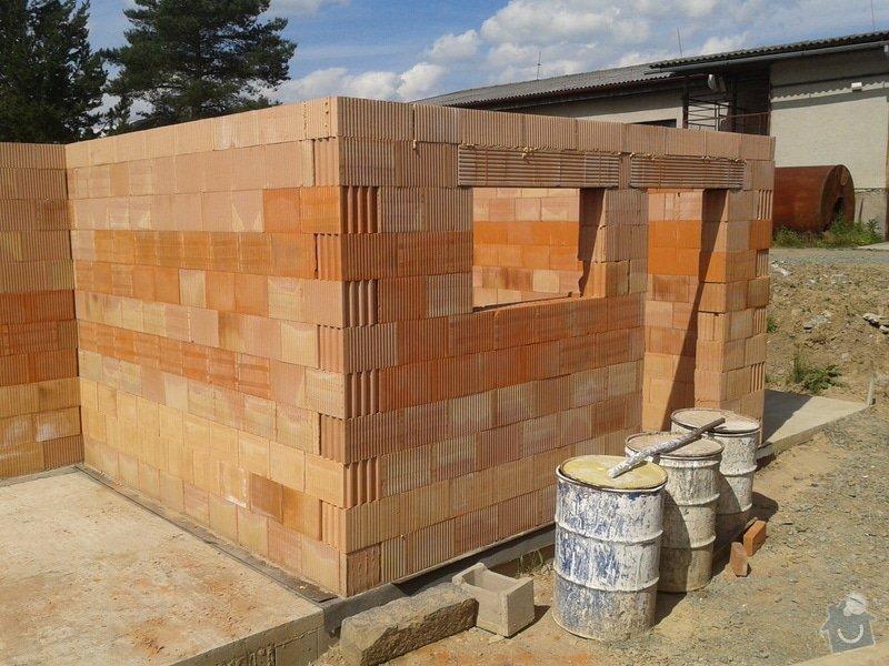 Výstavba hr. stavby garáže - Porotherm 24 Dryfix: IMG_20130615_154130