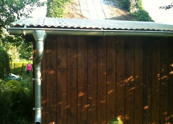 Pergola + zahradní domek