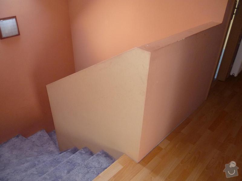 Dřevěný obklad betonového schodiště: foto2