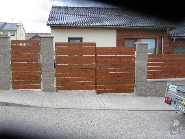 3ks plotových polí,branka a dvoukřídlá brána: IMG_3134