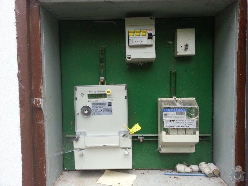 Elektroinstalace jističů: 20130526_143107