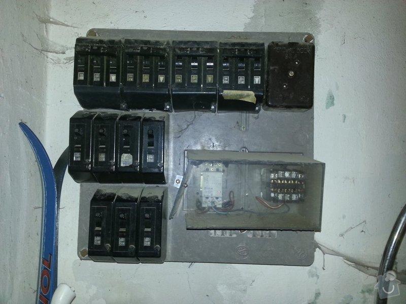 Elektroinstalace jističů: 20130526_143010