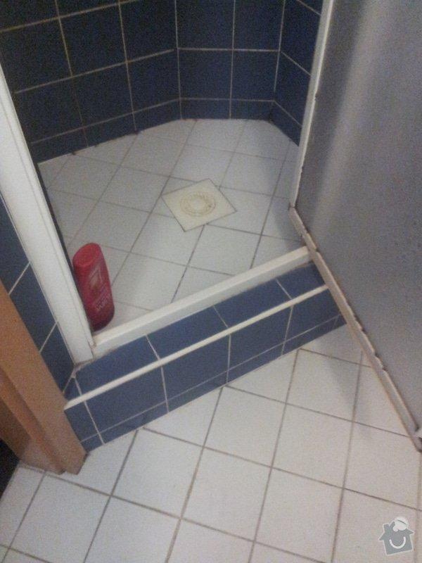 Oprava sifonu ve sprchovém koutu: 20130625_123955