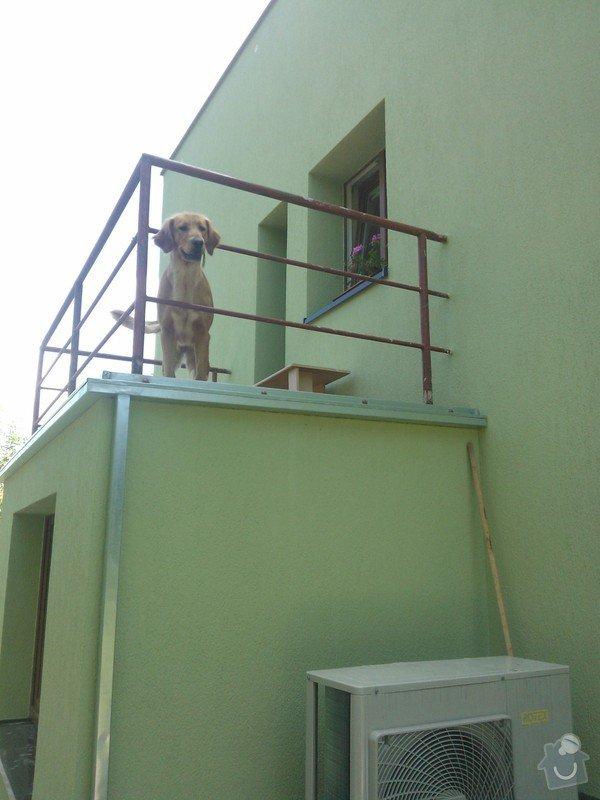 Zateplení RD,výměna klempířských prvků,rekonstrukce balkonů.: CERNOSICE_ZATEPLENI
