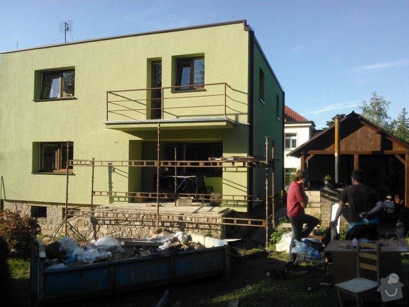 Zateplení RD,výměna klempířských prvků,rekonstrukce balkonů.: CERNOSICE_ZATEPLENI1