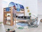 Dětská poschoďová postel s klouzačkou: reseni_zebriku