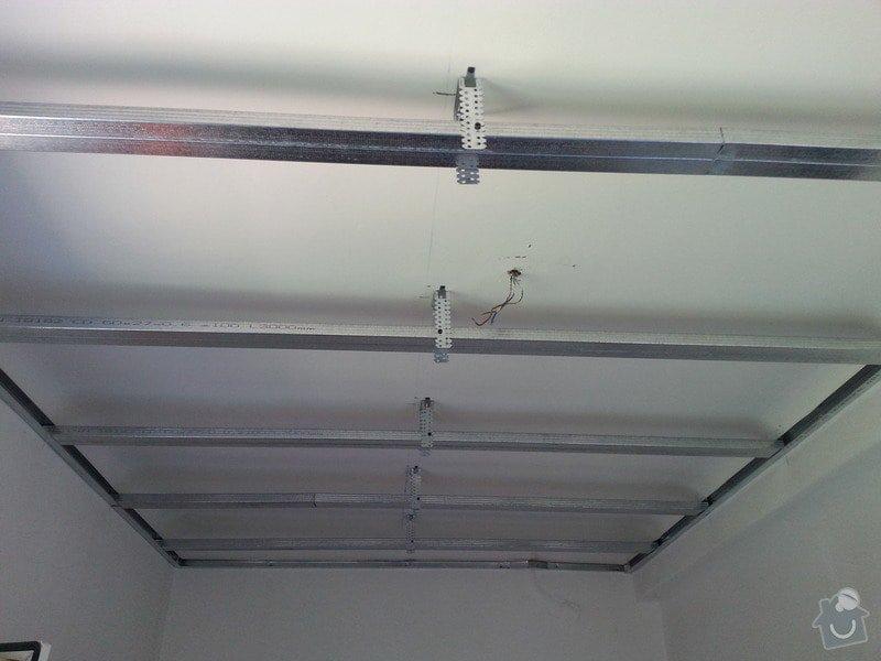Zateplení podhledů v patře RD: 20130617_135141