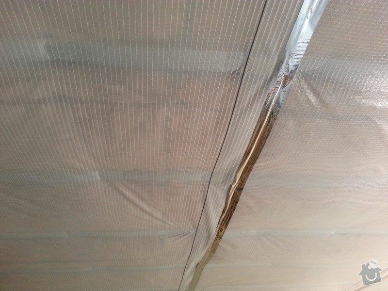 Zateplení podhledů v patře RD: 20130617_142001