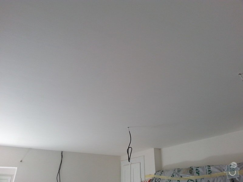 Zateplení podhledů v patře RD: 20130619_145418