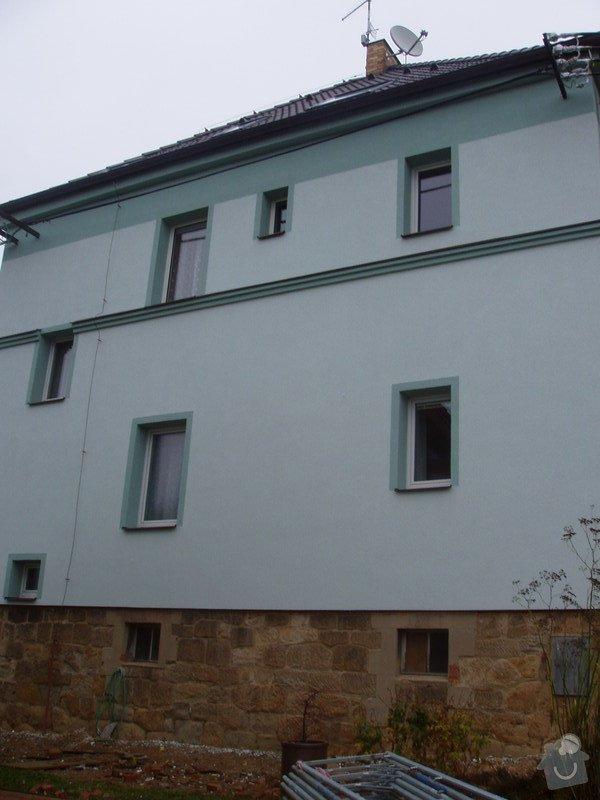 Renovace pískovcového soklu u rodinného domu: P8010009
