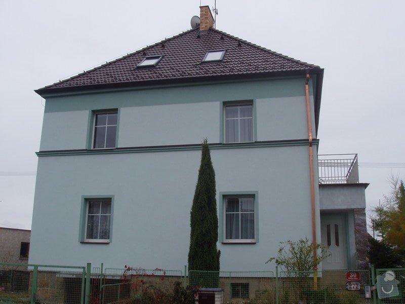 Renovace pískovcového soklu u rodinného domu: P8010016