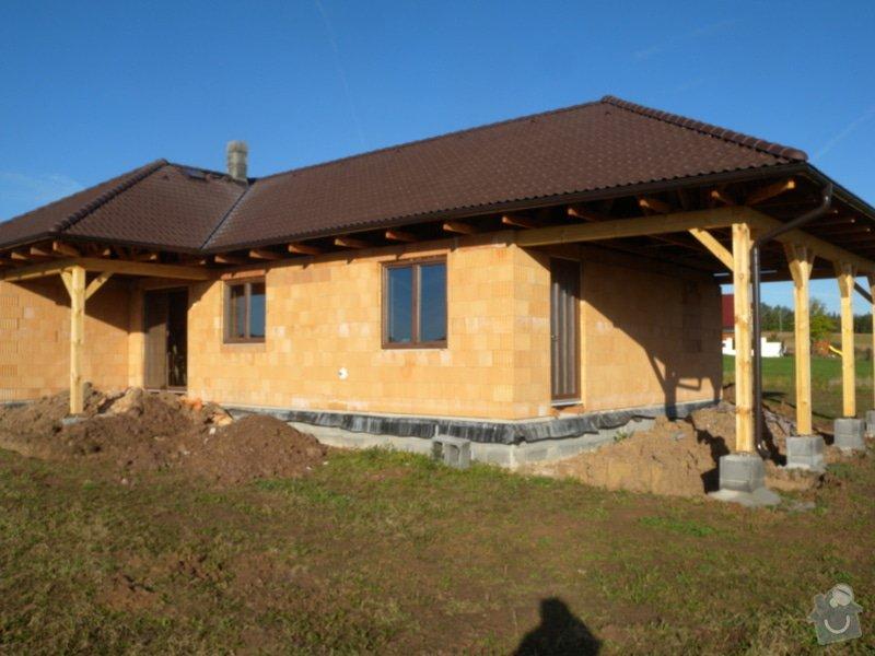 Elektroinstalace v novostavbě rodinného domu: DSCN1330
