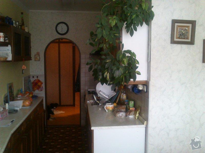 Rekonstrukce bytového jádra a stavební úpravy kuchyně: 1