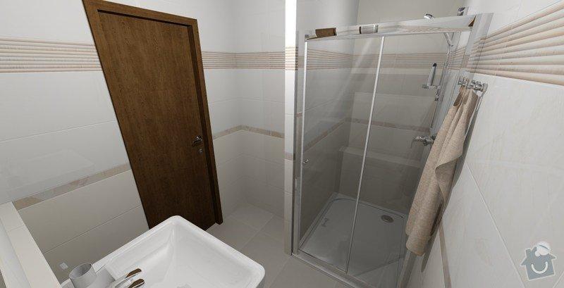 Rekonstrukce bytového jádra a stavební úpravy kuchyně: 3
