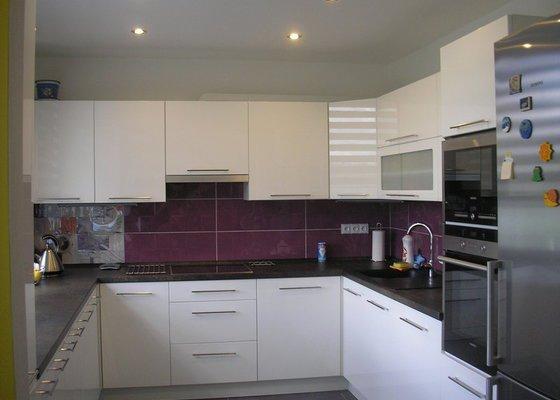 Rekonstrukce bytového jádra a stavební úpravy kuchyně