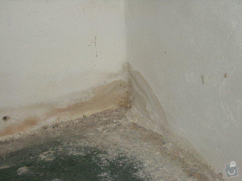Sanace a hydroizolace domu: DSCN8351