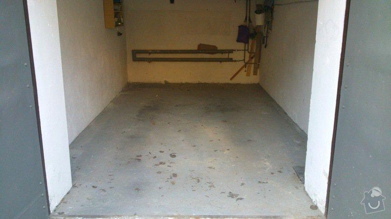 Pokládka dlažby v garážích: DSC_0003