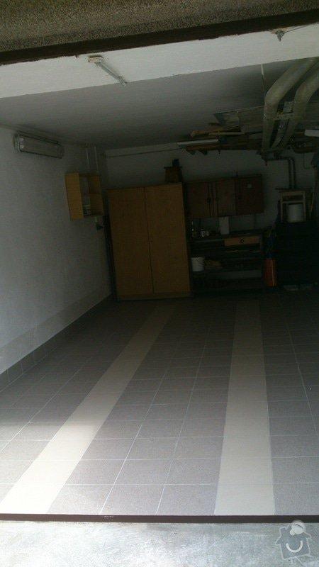 Pokládka dlažby v garážích: DSC_0026