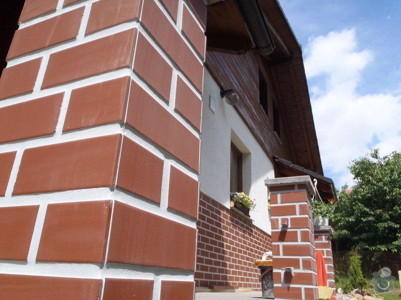 Obklad sloupů terasy: P6150142