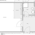 Renovace koupelny vstupnej chodby a kuchynskeho kuta na kopecku b 61 podorys