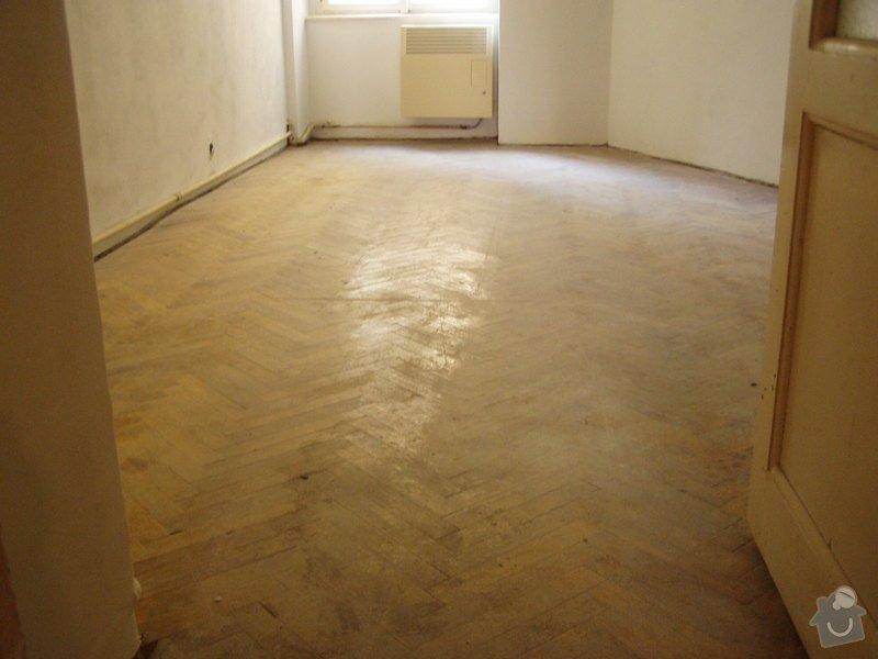 Dřevěná podlaha, renovace parket: P1010009