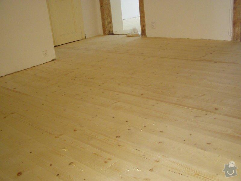 Dřevěná podlaha, renovace parket: P1010025