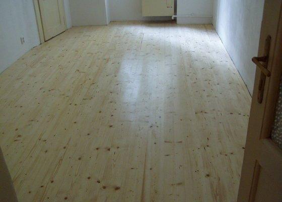Dřevěná podlaha, renovace parket