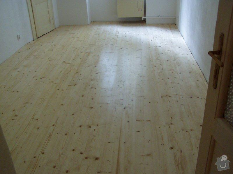 Dřevěná podlaha, renovace parket: P1010039