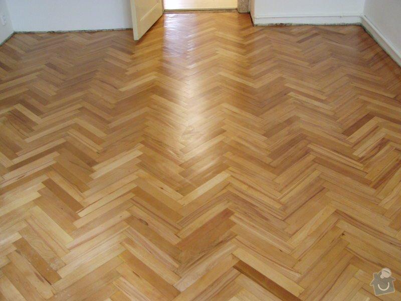 Dřevěná podlaha, renovace parket: P1010042
