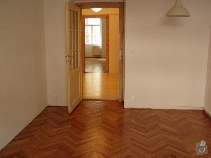 Dřevěná podlaha, renovace parket: P1010063