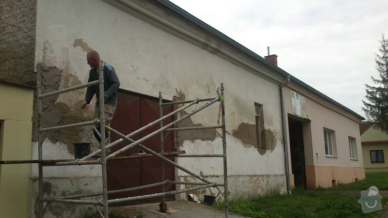 Rekonstrukce fasády - částečná: 1