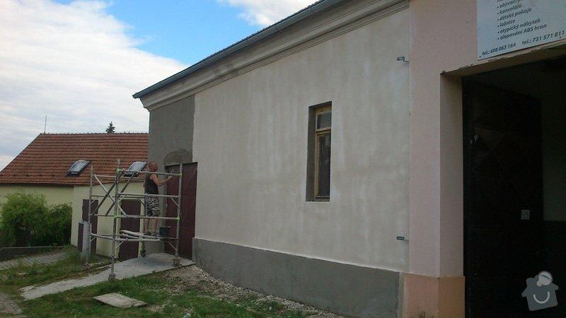 Rekonstrukce fasády - částečná: 2