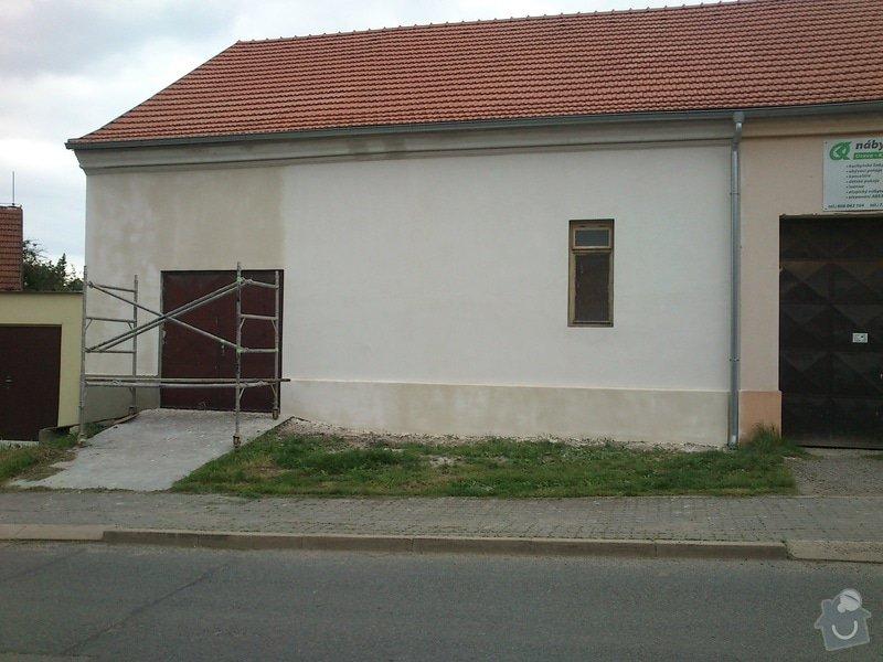 Rekonstrukce fasády - částečná: 3