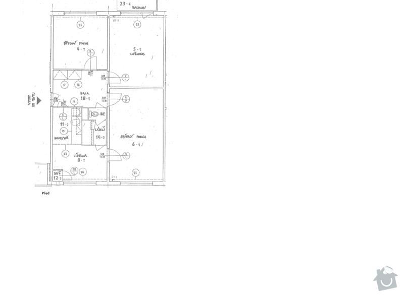 Rekonstrukce bytového jádra a stavební úpravy kuchyně: 29