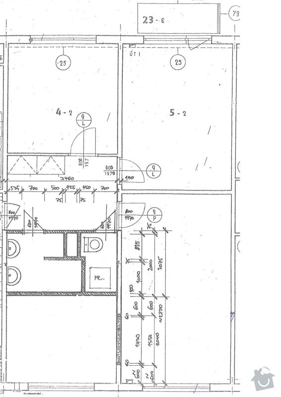 Rekonstrukce bytového jádra a stavební úpravy kuchyně: 30