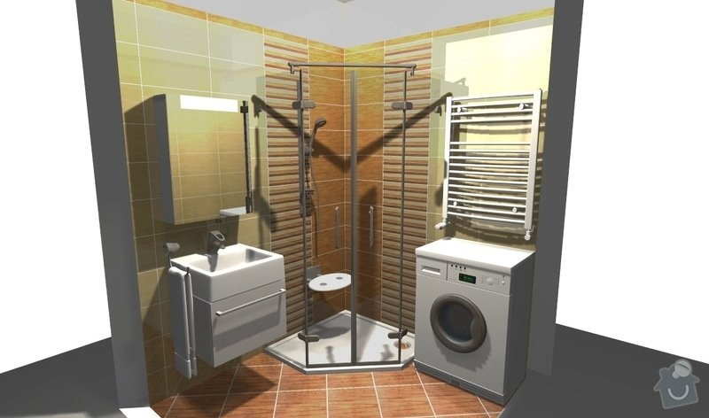 Rekonstrukce koupelny: 4