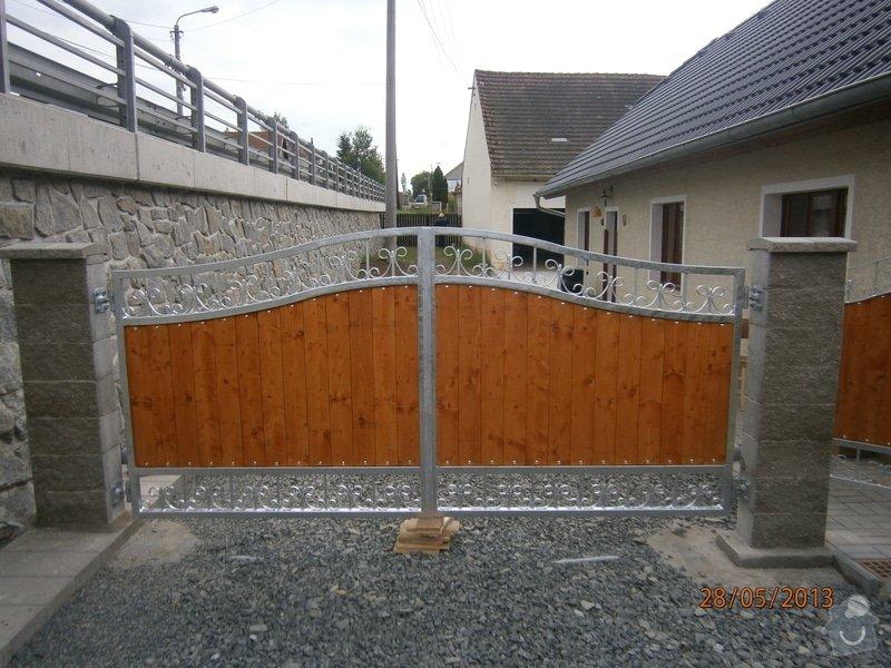 Dvoukřídlá brána a branka: P5281351