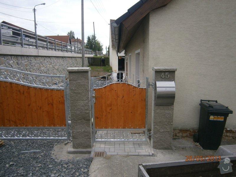 Dvoukřídlá brána a branka: P5281352