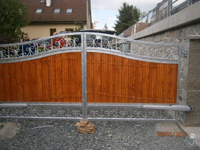 Dvoukřídlá brána a branka: P5281356