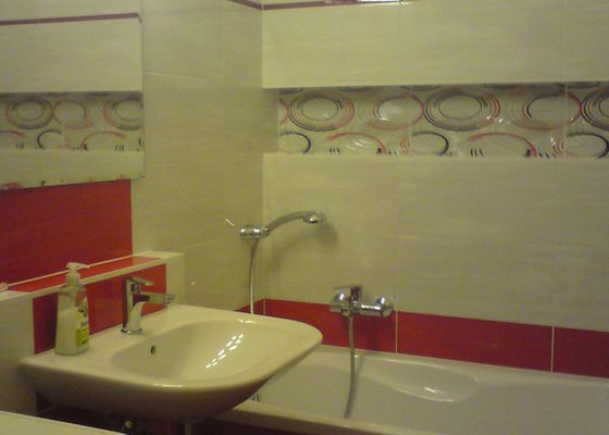 Rekonstrukce koupelna,WC, kuchyně