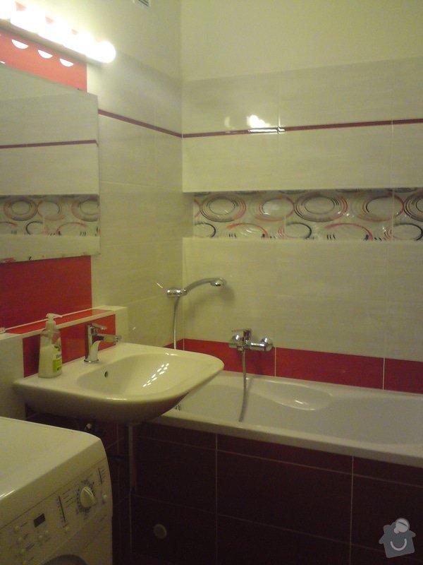 Rekonstrukce koupelna,WC, kuchyně: DSC01097