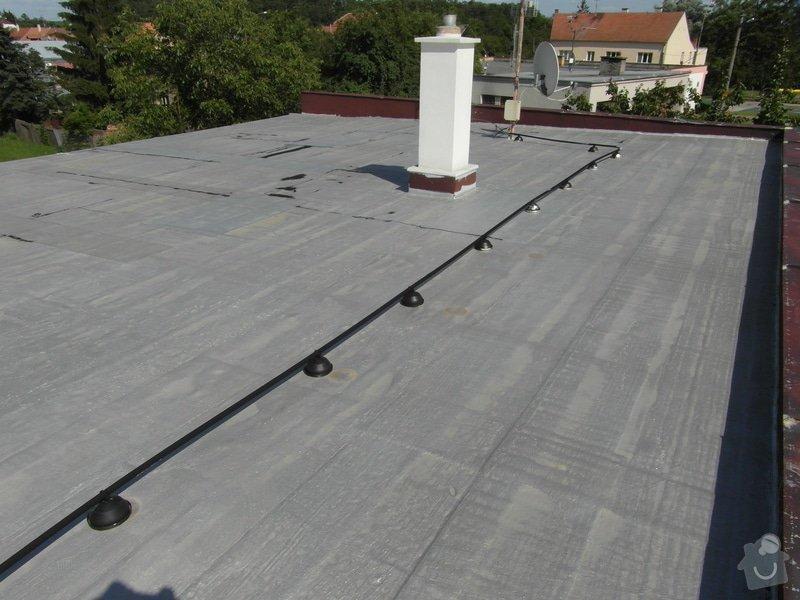 Zateplení ploché střechy 130m2 + folie PVC: SAM_1186