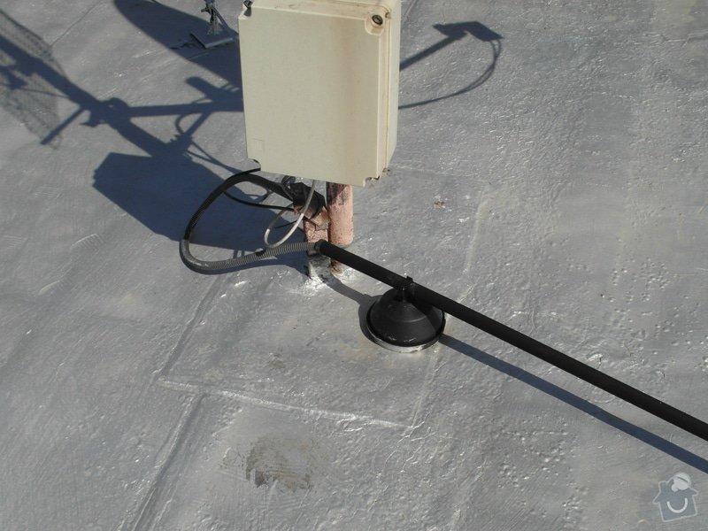 Zateplení ploché střechy 130m2 + folie PVC: SAM_1188