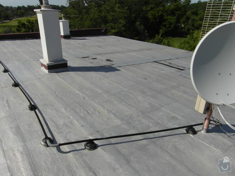Zateplení ploché střechy 130m2 + folie PVC: SAM_1189