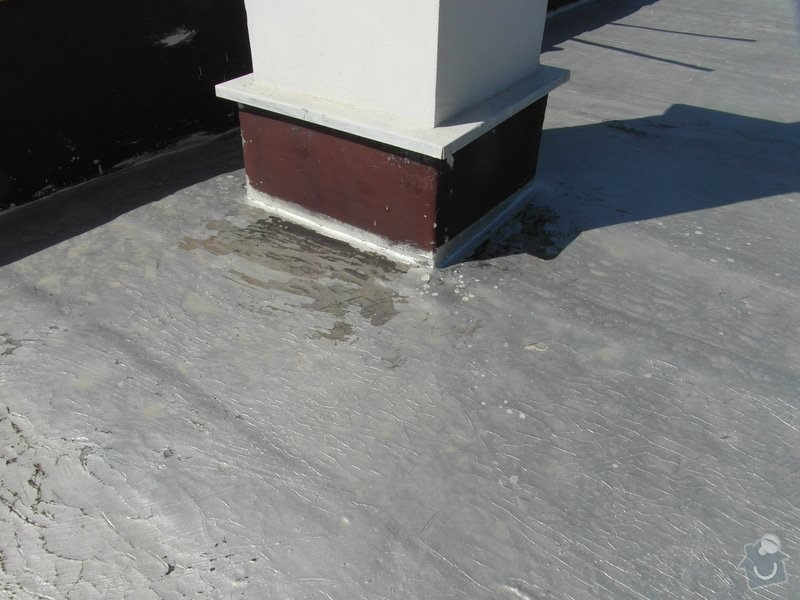Zateplení ploché střechy 130m2 + folie PVC: SAM_1190