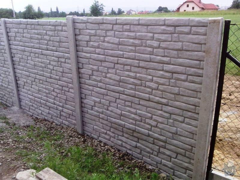 Kompletní oplocení RD Borek u ČB: betonove_oploceni_baculata_cihlicka_Borek_vyska_2_m