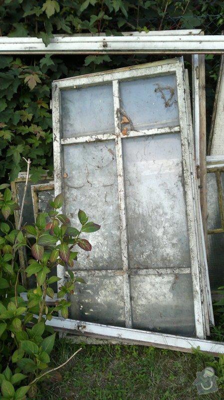 Repasování oken zahradního domku: 2013-06-30-106