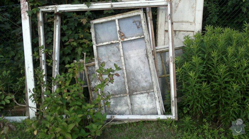 Repasování oken zahradního domku: 2013-06-30-107