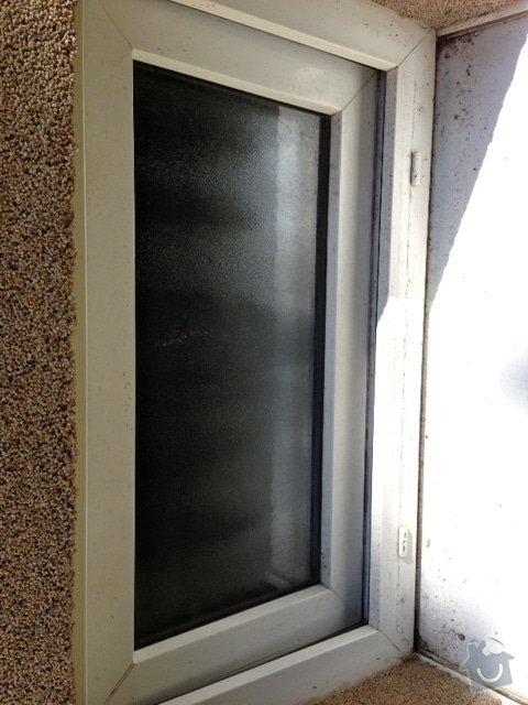 Oprava pantu plastového okna: okno3