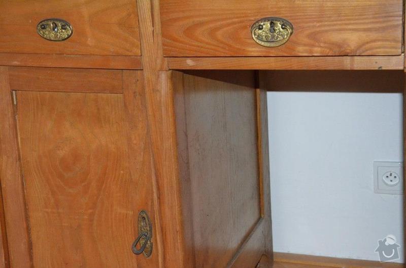 Oprava stolu - desky a kování: Stul02
